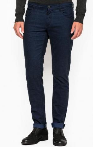 Зауженные брюки из хлопка Antony Morato. Цвет: синий