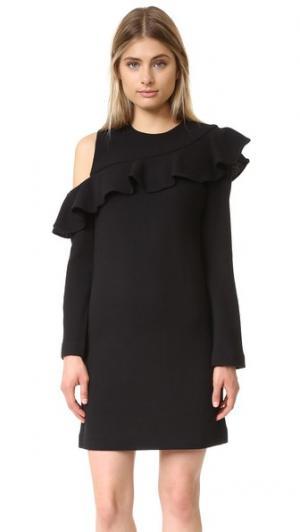 Платье Charlotte Jill Stuart. Цвет: нуар