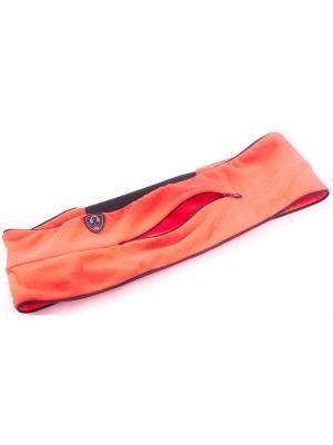 Пояс-сейф для бега и фитнеса Малинаспорт Malinasport. Цвет: оранжевый