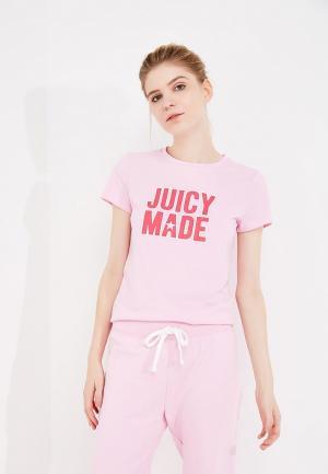 Футболка Juicy by Couture. Цвет: розовый