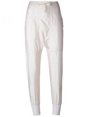 Зауженные к низу брюки Keegan Isabel Marant. Цвет: розовый и фиолетовый