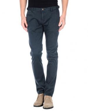 Повседневные брюки DAVID NAMAN. Цвет: темно-зеленый