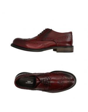 Обувь на шнурках FABIO MODIGLIANI. Цвет: красно-коричневый
