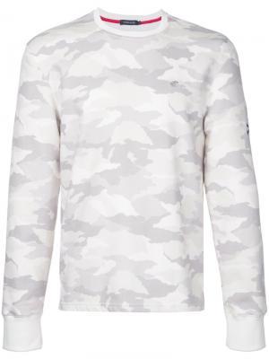 Camouflage sweatshirt Loveless. Цвет: белый