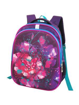 Ранец ученический Stelz. Цвет: фиолетовый