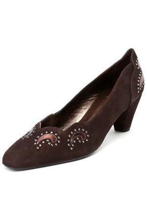 Туфли Asensio. Цвет: коричневый