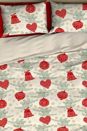 Double Duvet Cover Set COLORS OF FASHION. Цвет: red, green