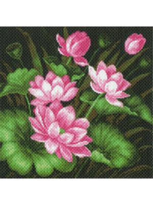 Набор для вышивания Нимфея Матренин Посад. Цвет: зеленый