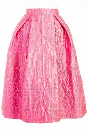 Юбка Mary Katrantzou. Цвет: розовый