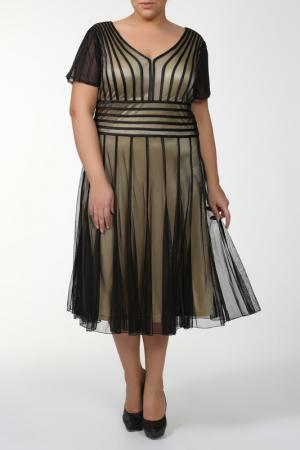 Платье Lia Mara. Цвет: черный