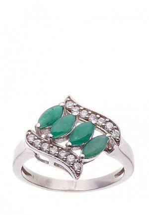 Кольцо Preshas Silver. Цвет: разноцветный