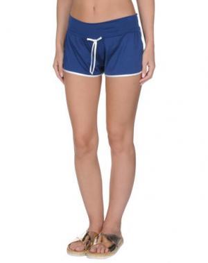 Пляжные брюки и шорты TWIN-SET Simona Barbieri. Цвет: темно-синий