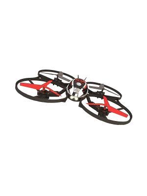 Квадрокоптер р.у. MINI-Коптер (гиро, профи) (з/у+акк) ВластелиНебес. Цвет: красный, черный