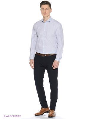 Рубашка Tommy Hilfiger. Цвет: светло-голубой