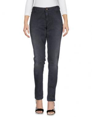 Джинсовые брюки SMITH'S AMERICAN. Цвет: черный