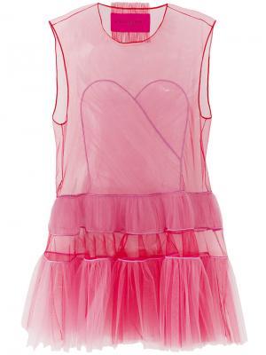Платье Cut. Icon 1.2 Viktor & Rolf. Цвет: розовый и фиолетовый