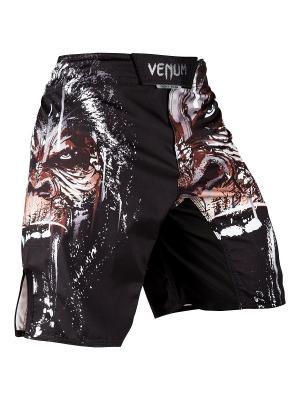 Шорты ММА Venum Gorilla - Black. Цвет: черный, красный, белый