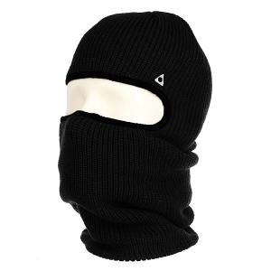 Балаклава  Facemask Black Ashbury. Цвет: черный