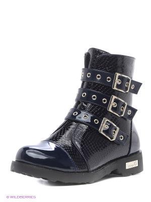 Ботинки Aotoria. Цвет: синий