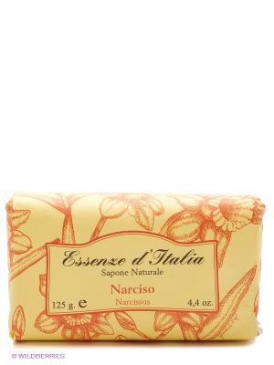 Мыло туалетное с ароматом НАРЦИСС, 125 г Iteritalia. Цвет: желтый