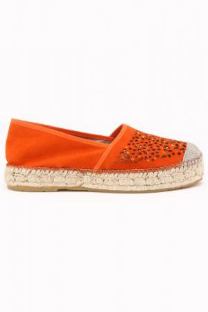Эспадрильи DERI&MOD. Цвет: оранжевый