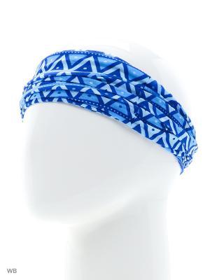 Повязка на голову Maxval. Цвет: синий