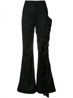 Расклешенные брюки Johanna Ortiz. Цвет: чёрный