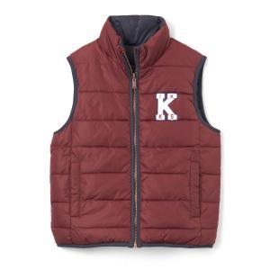 Куртка двусторонняя без рукавов, 3 - 14 лет IKKS JUNIOR. Цвет: красный темный