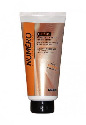Маска для волос Brelil Professional. Цвет: коричневый