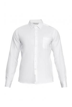 J2nd Рубашка из хлопка 159312 J'2nd. Цвет: белый