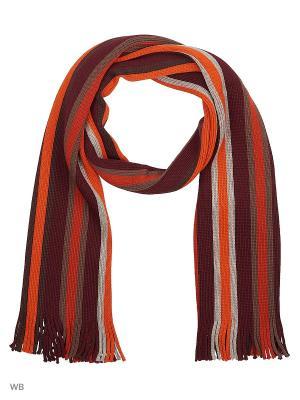 Шарф J Ploenes. Цвет: оранжевый