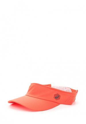 Козырек ASICS. Цвет: оранжевый