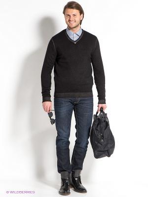Пуловер Strellson. Цвет: антрацитовый