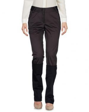 Повседневные брюки MARITHÉ + FRANÇOIS GIRBAUD. Цвет: темно-коричневый
