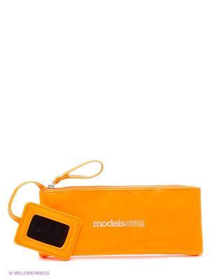 Косметичка малая Bag with mirror Models Own. Цвет: оранжевый
