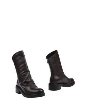 Полусапоги и высокие ботинки STRATEGIA. Цвет: темно-коричневый