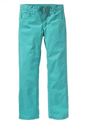 Холщовые брюки XXL для мальчиков, CFL. Цвет: бирюзовый