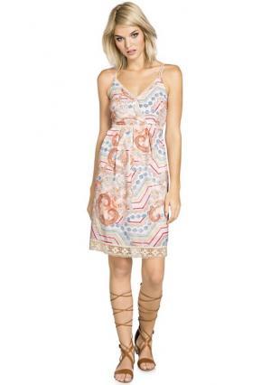 Платье Mandarin. Цвет: цветной