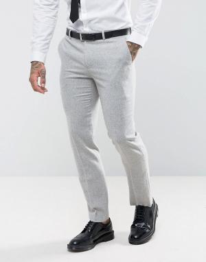 Harry Brown Облегающие брюки. Цвет: серый