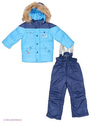Комплект одежды Baby Line. Цвет: голубой, синий