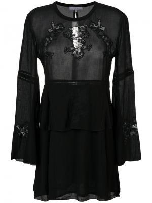 Платье Grecia Iro. Цвет: чёрный