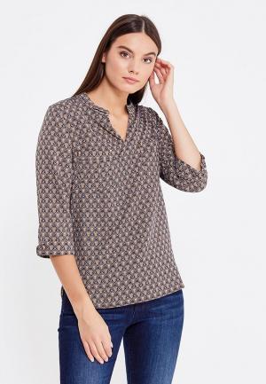Блуза Miss & Missis. Цвет: коричневый