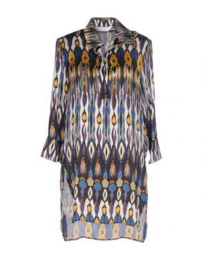 Блузка ANONYME DESIGNERS. Цвет: темно-синий