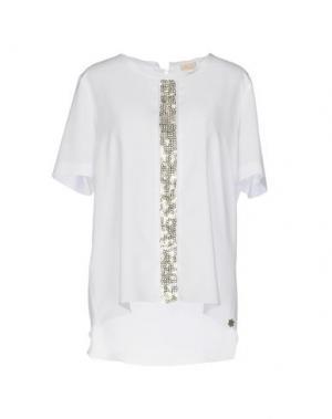 Блузка MOUCHE. Цвет: белый