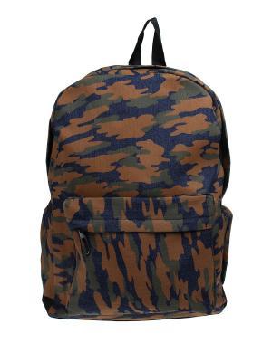 Рюкзак Olere. Цвет: синий, горчичный, зеленый