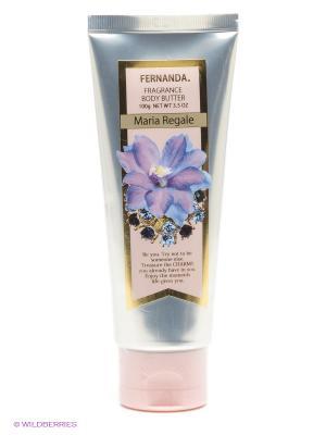 Парфюмированный крем-масло Fernanda Мария Регаль, 100 мл.. Цвет: серебристый, розовый