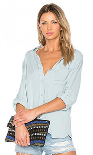 Рубашка fern SAM&LAVI. Цвет: синий