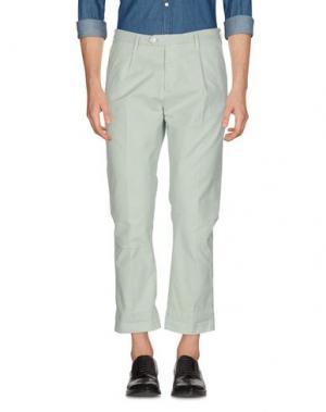 Повседневные брюки GUYA G.. Цвет: светло-зеленый