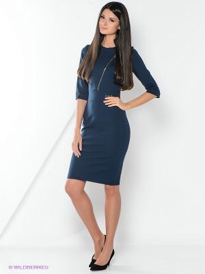 Платья Bezko. Цвет: темно-синий