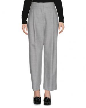 Повседневные брюки 1-ONE. Цвет: серый
